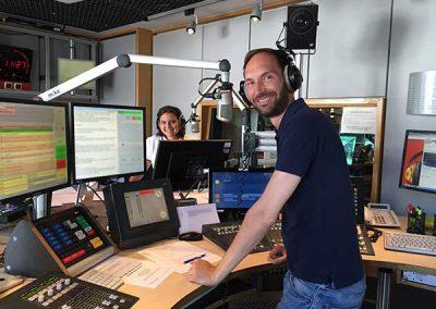 Samia Little Elk & Ron Perdus Expertenrunde Radio Berlin 88.8